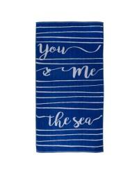 """BATELA 6512 TOALLA """"YOU,ME,THE SEA"""""""